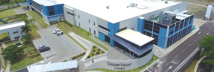 Buildings in our Costa Rica plant